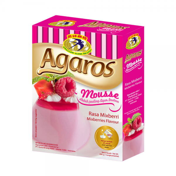 Puding Agaros - Mix Berry