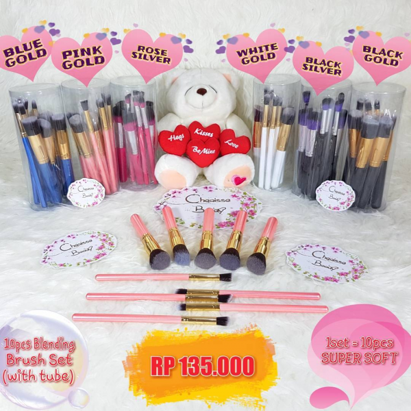 10pcs Blending Brush Set