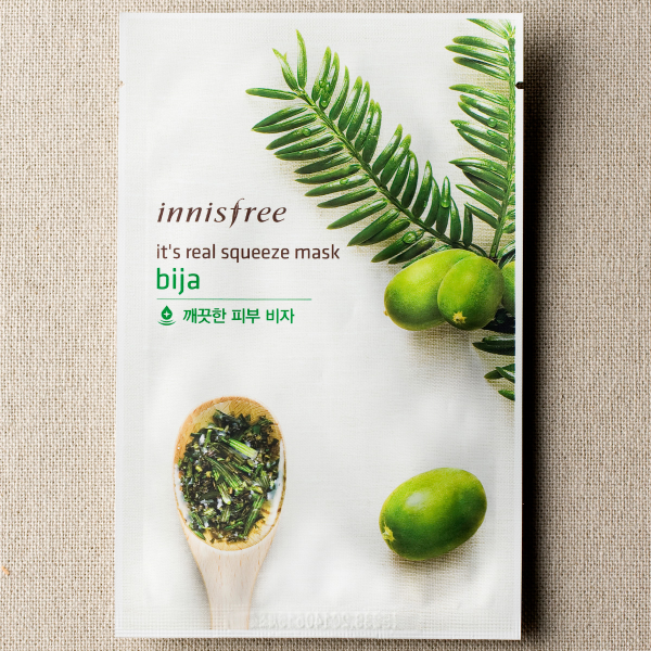 [INNISFREE] It's Real Squeeze Mask #Bija - 1pc