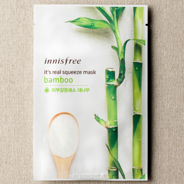 [INNISFREE] It's Real Squeeze Mask #Bamboo - 1pc