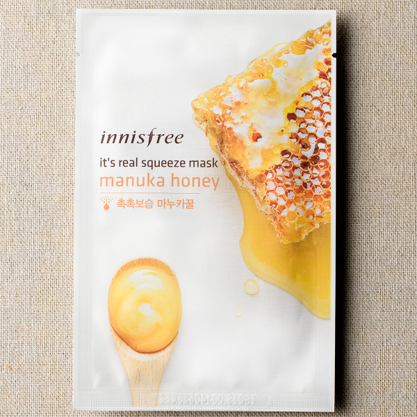 [INNISFREE] It's Real Squeeze Mask #Manuka Honey - 1pc