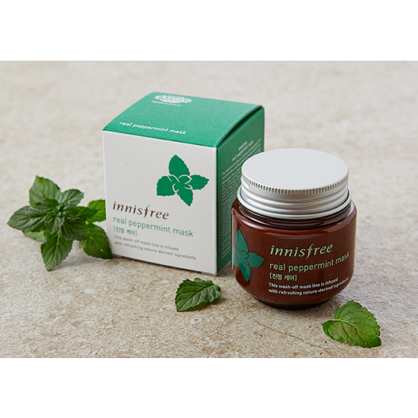 [INNISFREE] Real Peppermint Mask 100ml