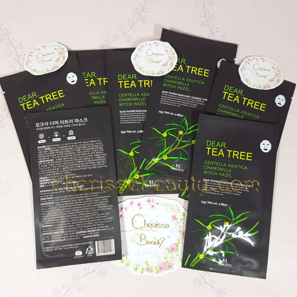[MOKSHA] Dear Tea Tree Mask