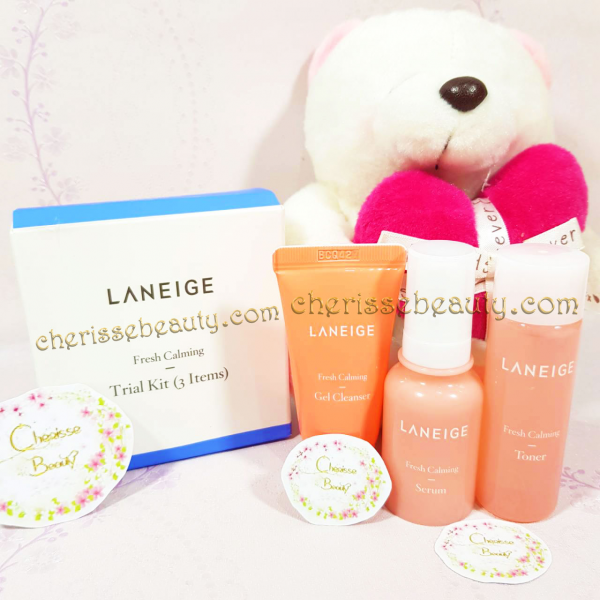 [LANEIGE] Fresh Calming Kit (3 Items)