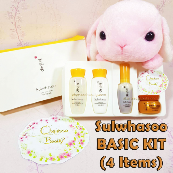 [SULWHASOO] Basic Kit - 4 Items