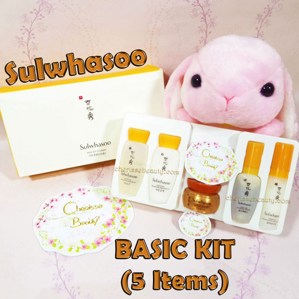 [SULWHASOO] Basic Kit - 5 Items
