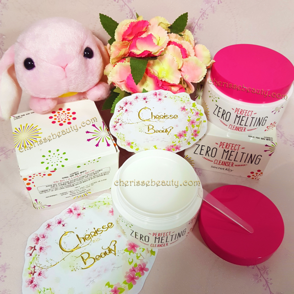 [SECRET KEY] Perfect Zero Melting Cleanser 160g  / Sherbet type cleanser