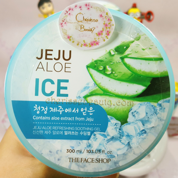 [The Face Shop] Jeju Aloe Ice