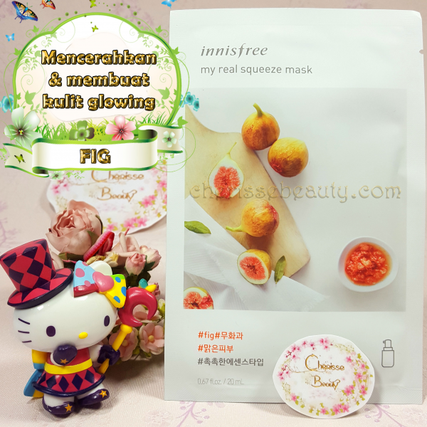 [Innisfree] My Real Squeeze Mask #FIG