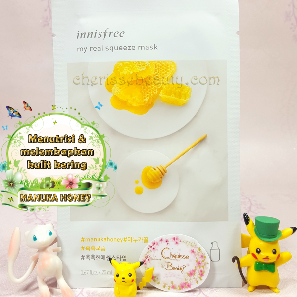[Innisfree] My Real Squeeze Mask #MANUKA HONEY