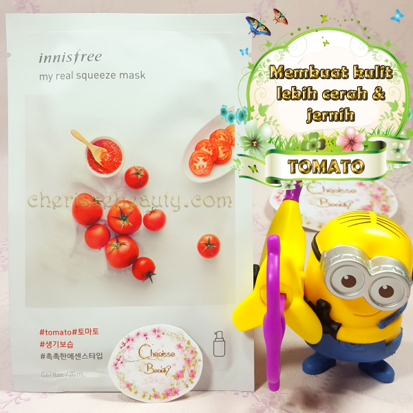 [Innisfree] My Real Squeeze Mask #TOMATO