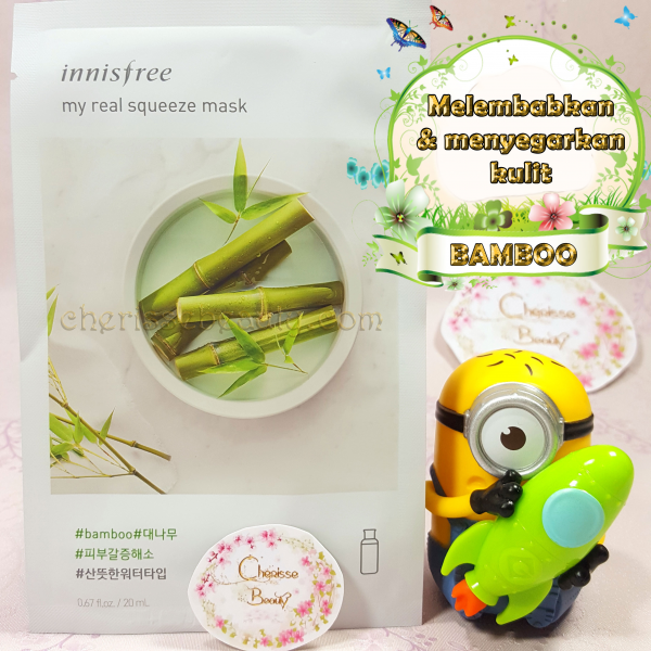 [Innisfree] My Real Squeeze Mask #BAMBOO