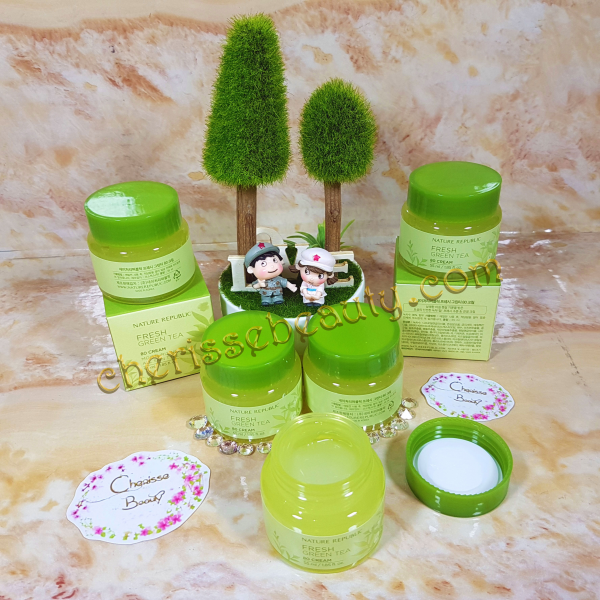 [Nature Republic] Fresh Green Tea 80 Cream