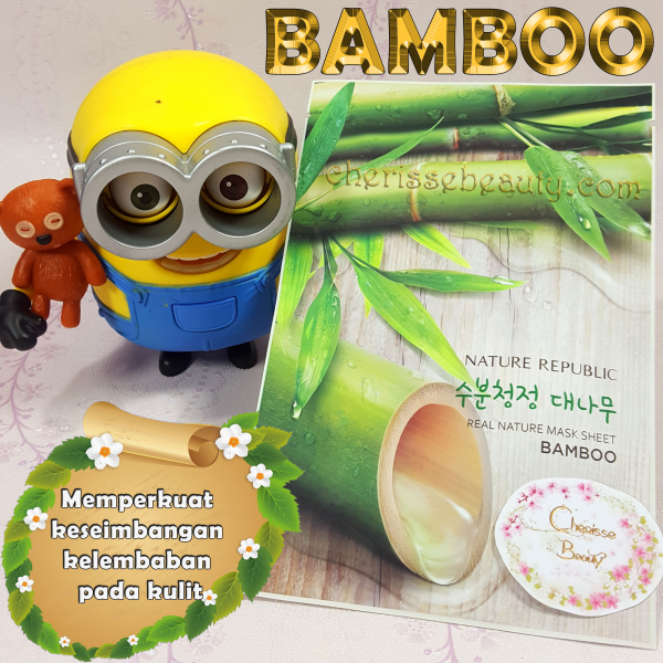 [NATURE REPUBLIC] Real Nature Mask Sheet #BAMBOO