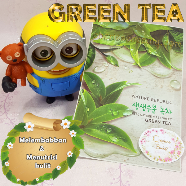 [NATURE REPUBLIC] Real Nature Mask Sheet #GREEN TEA