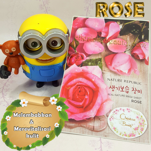 [NATURE REPUBLIC] Real Nature Mask Sheet #ROSE