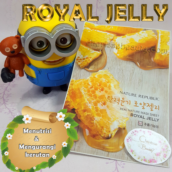 [NATURE REPUBLIC] Real Nature Mask Sheet #ROYAL JELLY