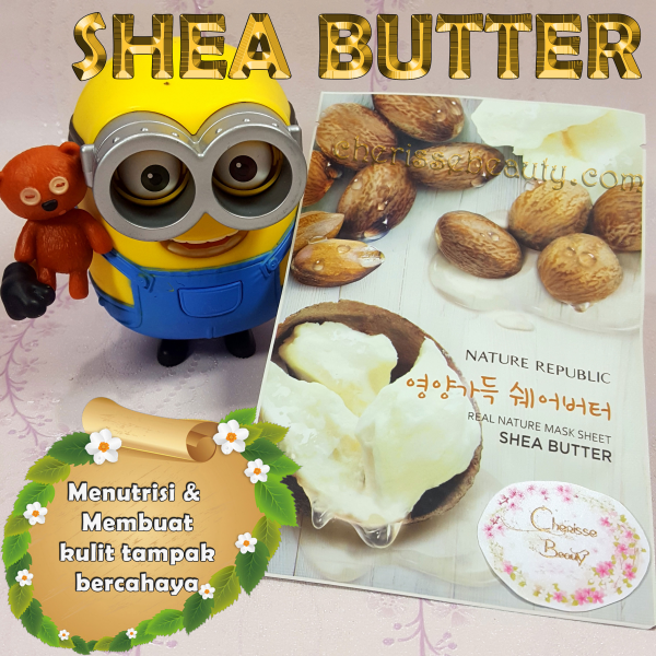 [NATURE REPUBLIC] Real Nature Mask Sheet #SHEA BUTTER