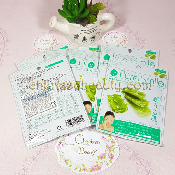 Pure Smile Original Essence Mask #Aloe