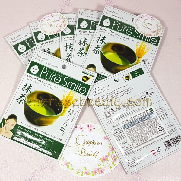 Pure Smile Original Essence Mask #Green Tea