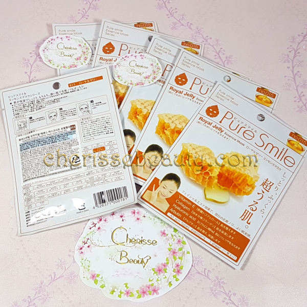 Pure Smile Original Essence Mask #Royal Jelly