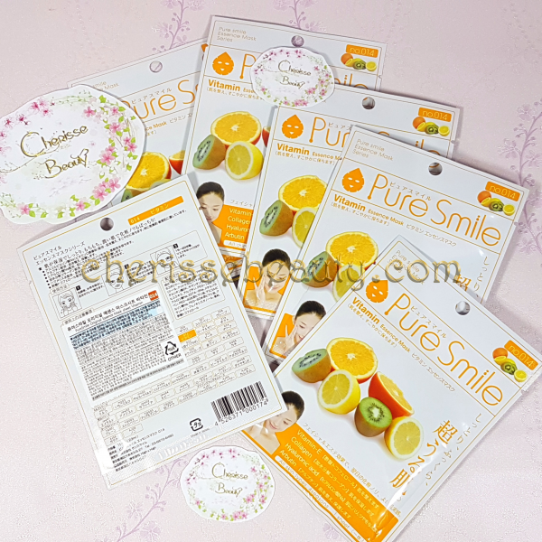 Pure Smile Original Essence Mask #Vitamin