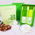 Nature Republic Soothing and Moisture Aloe Vera Skin Care SET Toner & Emulsion