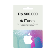 IGC - iTunes Gift Card IDR 500.000,-