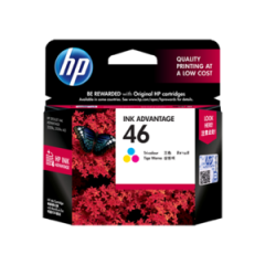 Tinta HP 46 Colour Ink Catridge