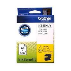 Tinta BROTHER LC-535 XL Yellow