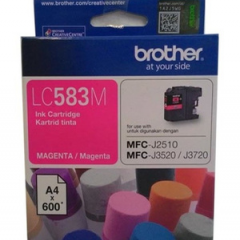 Tinta BROTHER LC-583 M (MFC-J2510 , MFC-3520 , 3720)