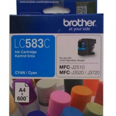 Tinta BROTHER LC-583 C (MFC-J2510 , MFC-3520 , 3720)