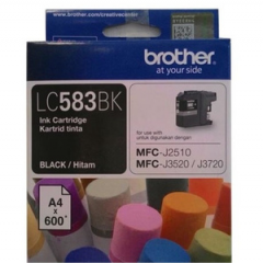 Tinta BROTHER LC-583 BK (MFC-J2510 , MFC-3520 , 3720)