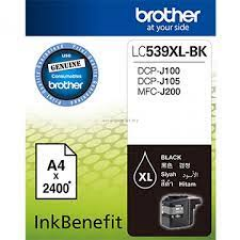 Tinta BROTHER LC-539 XL Black
