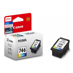 Canon PG 746 Warna Tinta Catridge Original