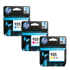 HP 935 Catridge Tinta Original Cyan/Magenta/Yellow
