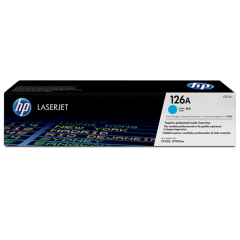 HP 126A Toner Cyan Original untuk Printer HP CP1025
