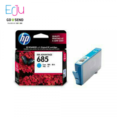 HP 685 Cyan/Magenta/Yellow Catridge Tinta
