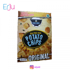 BlueDuck Potato Chips Salted Egg Telur Asin