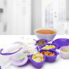 Florence Serving Set Ungu
