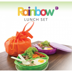 Rainbow Lunch Set - Tempat Bekal