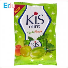 Permen Kis Mint Apple Peach Kemasan Pak