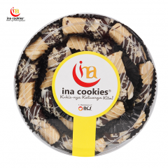 Ina Cookies Almond Cheese Cokelat