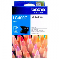 Tinta BROTHER LC-400 Cyan