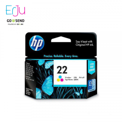HP 22 Colour Ink Warna Catridge Original