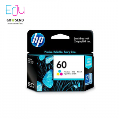 HP 60 Colour Ink Warna Catridge Original