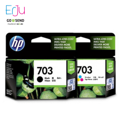 HP 703 Black/Colour Tinta Catridge Original