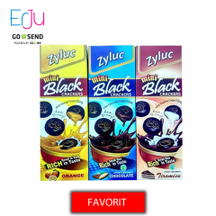 Paket 3 ZYLUC Mini Black Crackers - Biskuit Enak