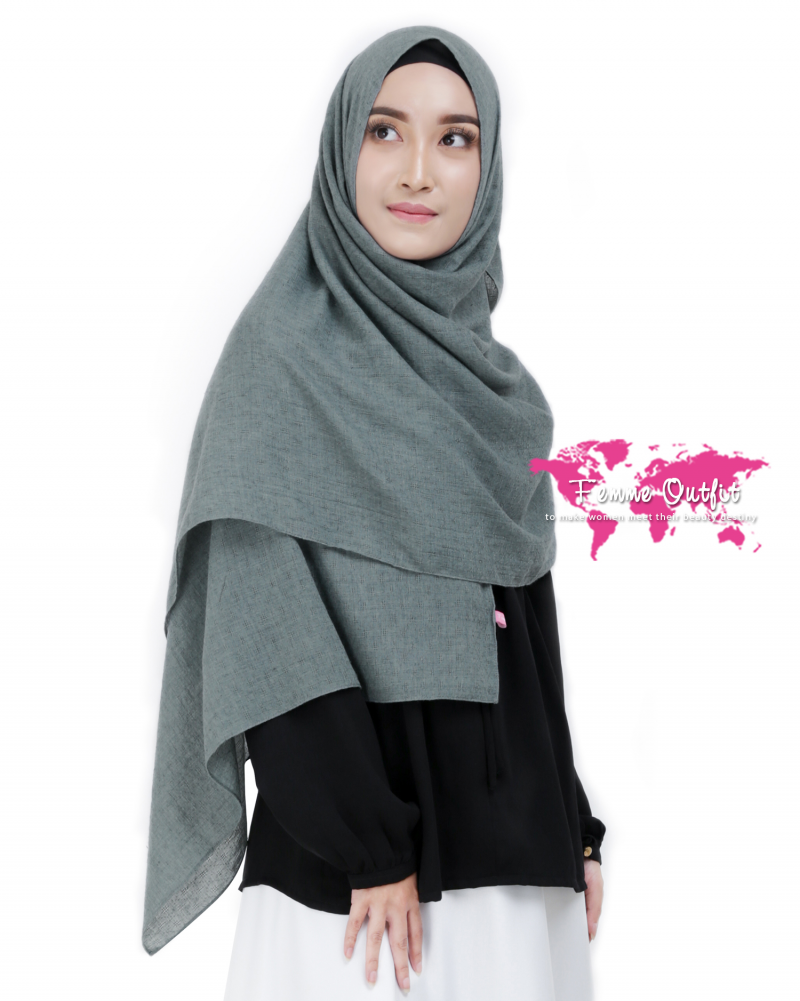 Alexa Shawl Pashmina Dark Canyon