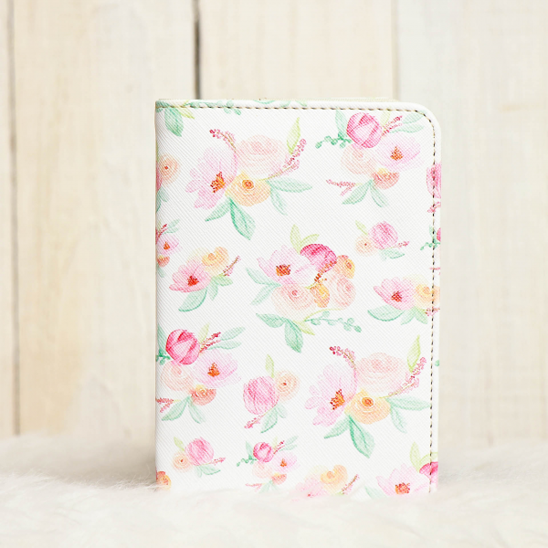 Passport Cover Pinkish Blush